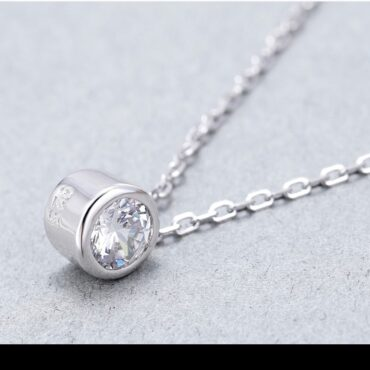 Gorgeous Classic Moissanite Pendant - Round Cut Design, Shop Inspo Style Cover
